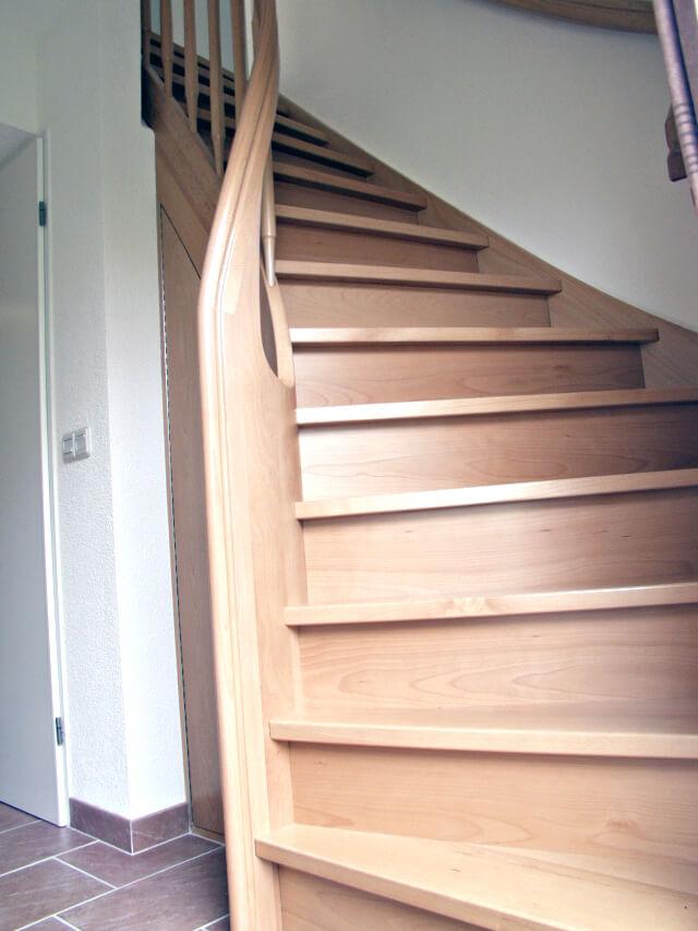 Houten trappen comfort trappen for Houten trappen op maat gemaakt